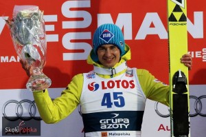 Kamil Stoch - zwycięzca z 2015 r. (fot. Julia Piątkowska)