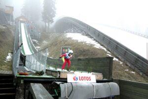 Skocznie 'Skalite' w Szczyrku podczas zawodów LOTOS Cup, fot. Alicja Kosman / PZN