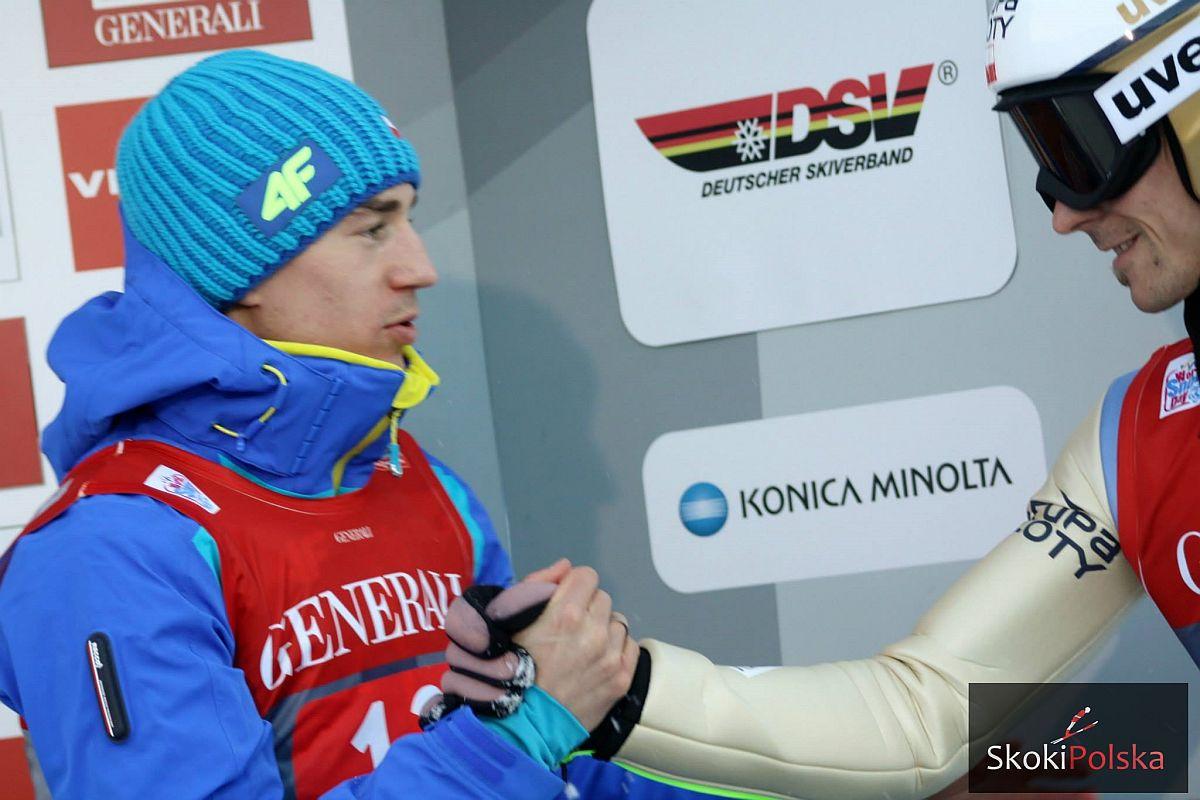 Kamil Stoch i Piotr Żyła (fot. Julia Piątkowska)