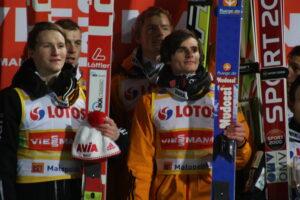 zwycięski skład Niemców (od lewej: Kraus, Neumaye, Freund, Freitag), fot. Julia Piątkowska