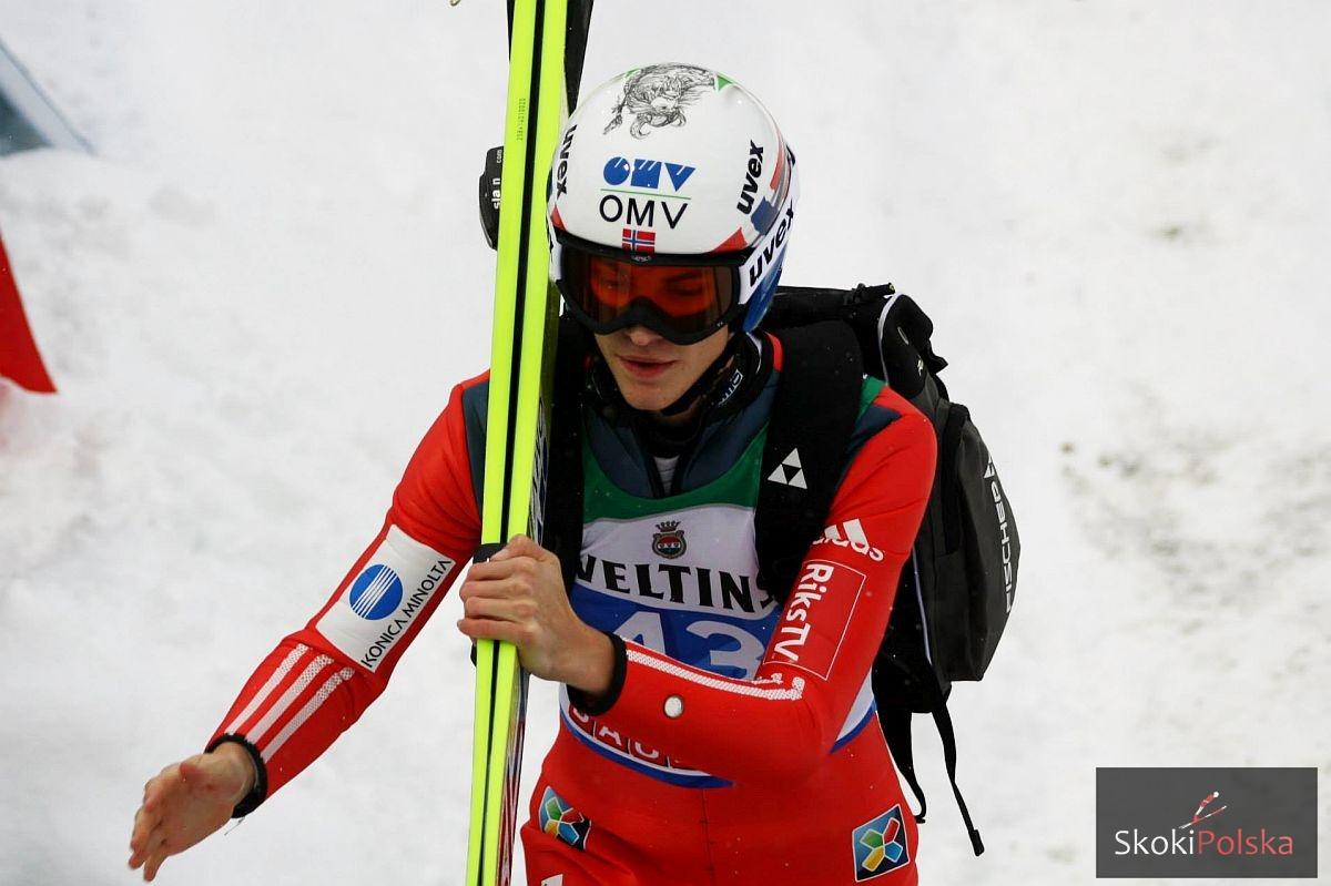 Daniel Andre Tande WC.Bischofshofen.2015 fot.Julia .Piatkowska - PŚ Kuopio: Norwegowie prowadzą, Tande z rekordem skoczni!
