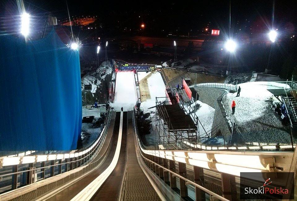 """Falun 2015 Lugnet fot.J.Piatkowska - FIS Cup Falun: Ostatni akcent """"trzeciej ligi"""", 59 skoczków i 16 skoczkiń na starcie"""