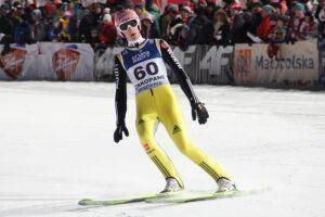 Severin Freund - zwycięzca zeszłorocznego konkursu w Oslo (fot. Stefan Piwowar)
