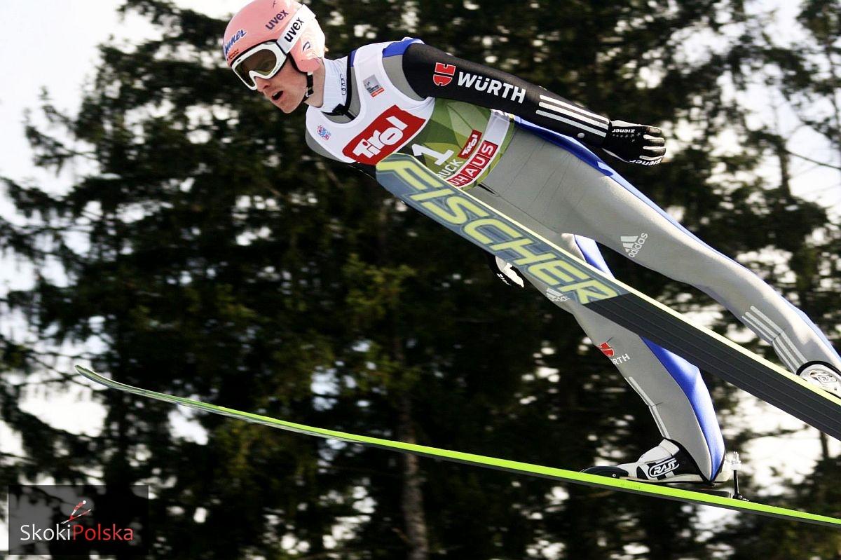 """Freund Severin WC.Innsbruck.2015 lot fot.Julia .Piatkowska - Severin Freund: """"Mój ostatni skok był jednym z najlepszych w ostatnich tygodniach"""""""