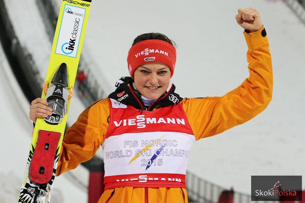 Mistrzyni świata - Carina Vogt (fot. Julia Piątkowska)