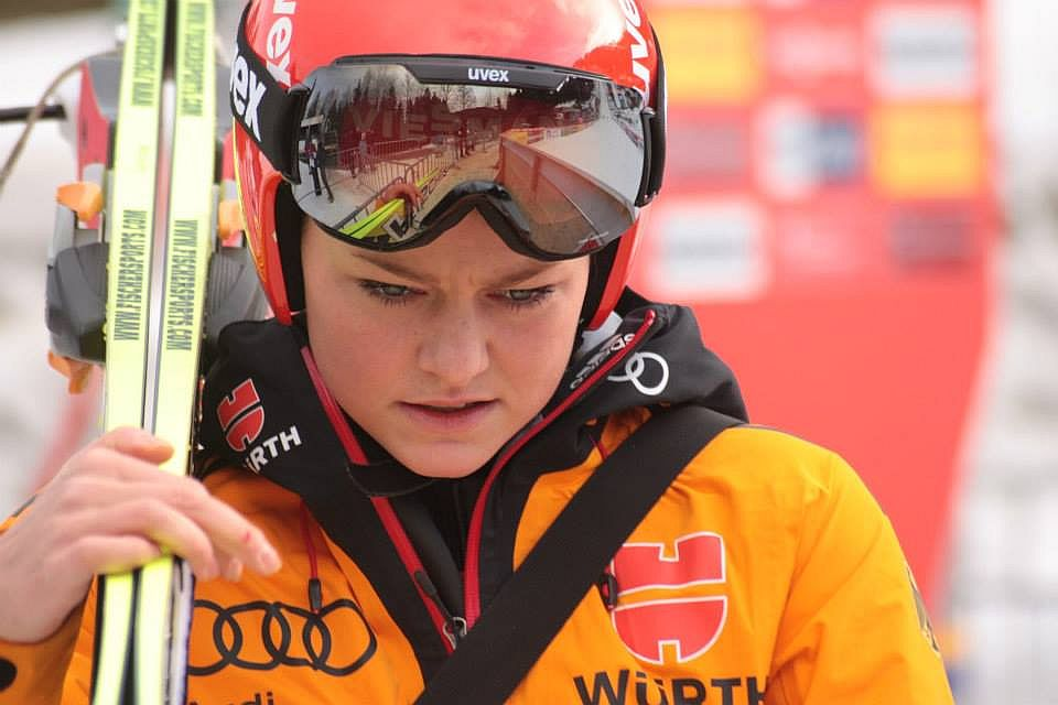 Vogt Carina fot.Frederic.Clasen - PŚ Pań Hinzenbach: Drugie zwycięstwo Vogt tej zimy