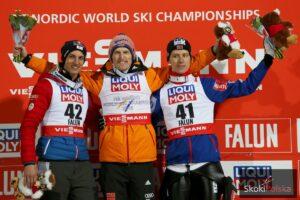 MŚ Falun: Freund perfekcyjnym mistrzem świata w Falun, Żyła dziewiąty