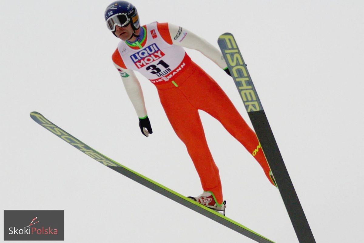 Ahonen Janne WSC.Falun .2015.lot fot.Julia .Piatkowska - Janne Ahonen zwycięża w mistrzostwach Finlandii