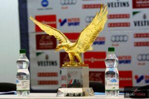 Złoty Orzeł - trofeum za zwycięstwo w TCS, fot. Julia Piątkowska