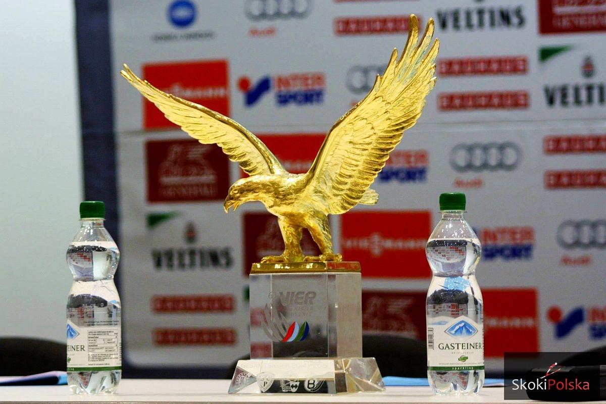 Złoty Orzeł - trofeum za zwycięstwo w Turnieju Czterech Skoczni, fot. Julia Piątkowska