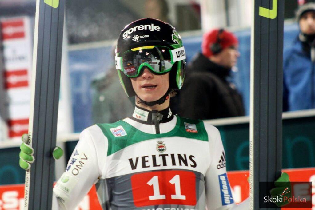 TCS Oberstdorf: Prevc liderem na półmetku, bardzo słabi Polacy