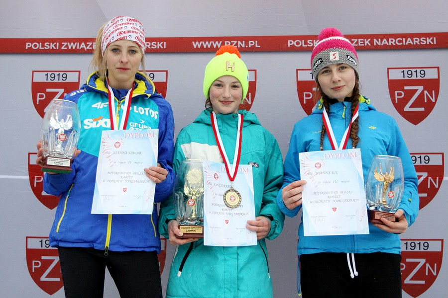 Read more about the article Rajda, Jarząbek i Karpiel z juniorskimi tytułami mistrzowskimi w Szczyrku