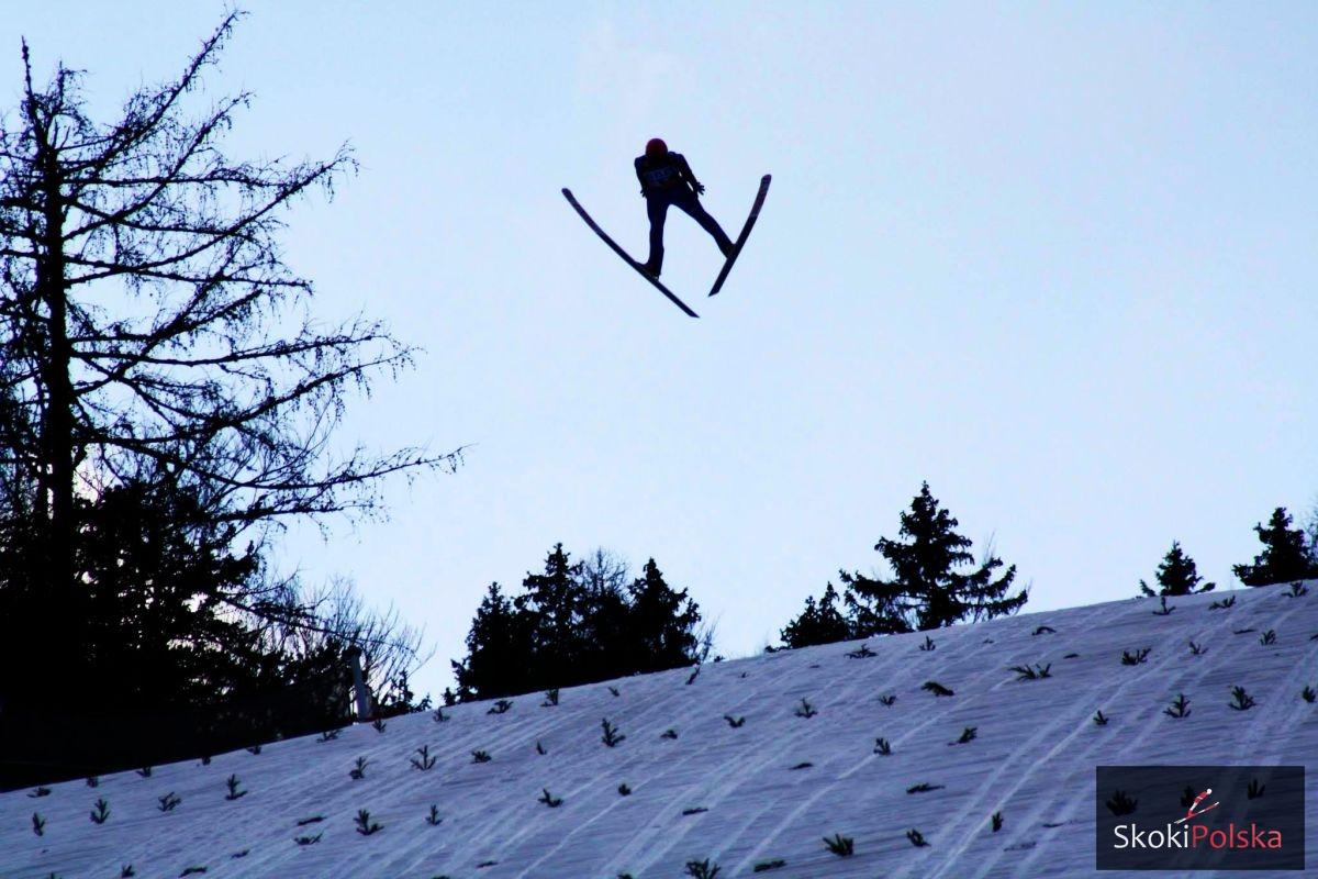 """Aby nikogo nie faworyzować już na starcie - zdjęcie """"anonimowego"""" skoczka narciarskiego (fot. Julia Piątkowska)"""