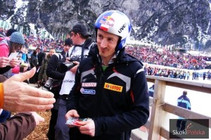 Adam Małysz - ostatni Polak, który stał na podium w Oberstdorfie (fot. Julia Piątkowska)