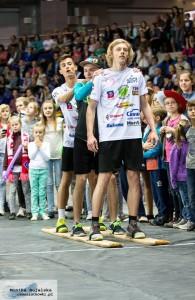 Skoczkowie w Azoty Arena, fot. Monika Bujalska / czassiatkowki.pl