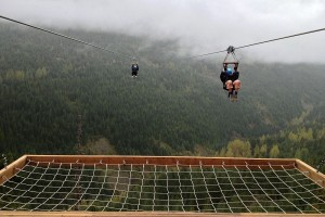 Zip line Whistler.Canada fot.Ferdilouw 300x200 - Vikersundbakken otwiera się na turystów także latem