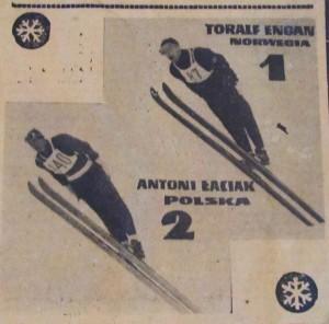 "Antoni Łaciak i Toralf Engan (gazeta sportowa ""Tempo"")"