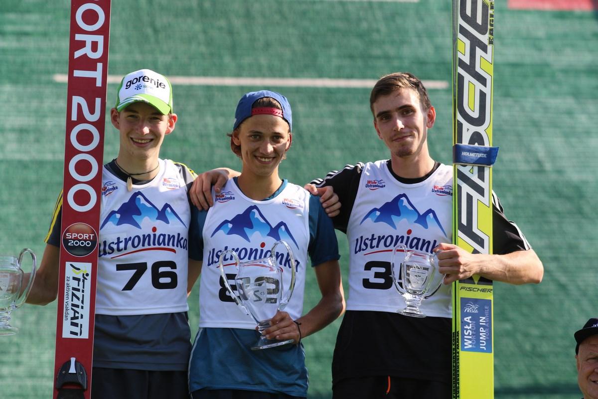8H7A7895 Kopiowanie - FIS Cup w Szczyrku: Michael Dreher pierwszy, Artur Kukuła na najniższym stopniu podium