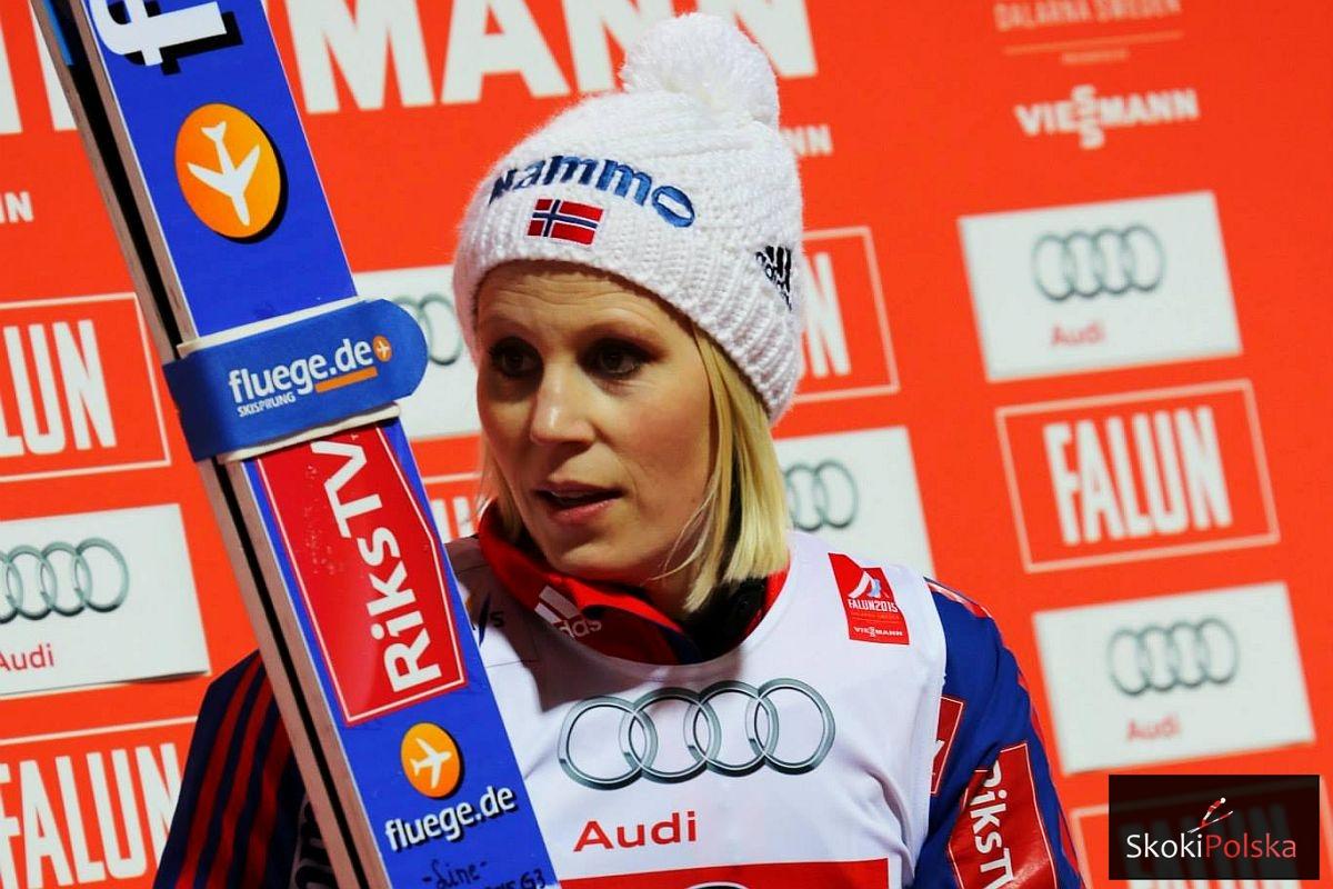 """Jahr Line WSC.Falun .2015 fot.Julia .Piatkowska2 - Line Jahr dla SkokiPolska: """"Chcę stanąć na najwyższym stopniu podium"""""""