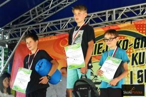 Podium w kat. junior D (od lewej: A.Niźnik, S.Majerczyk, S.Zygumntowicz), fot. Bartosz Leja