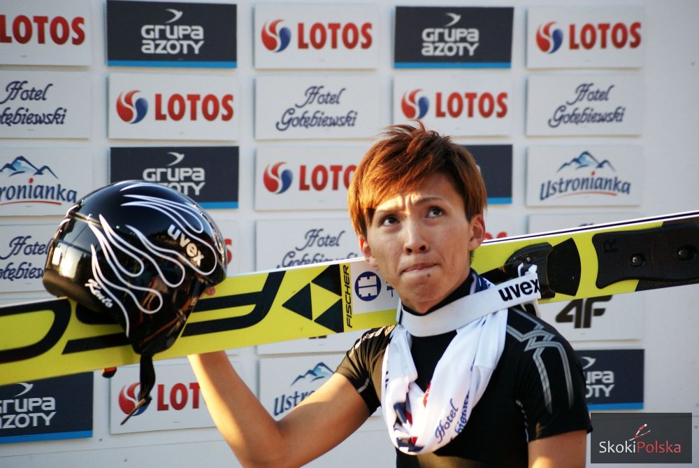 Sakuyama Wisla B.Leja  - LGP Courchevel: Sakuyama odlatuje, wiatr rozdaje karty