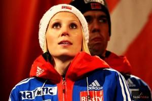 """Jahr Line WSC.Falun .2015.medal 2 fot.Julia .Piatkowska 300x199 - Line Jahr dla SkokiPolska: """"Jesteśmy z Maren silnym duetem"""""""