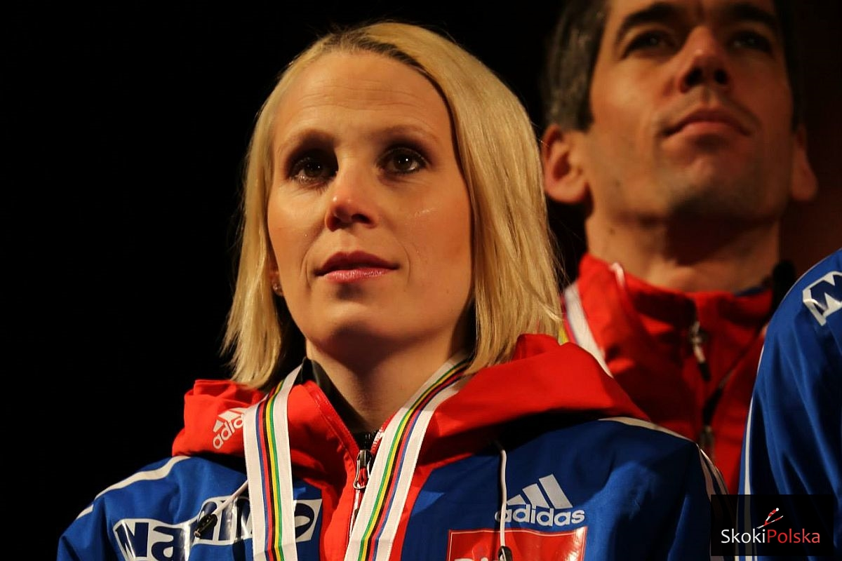 "Jahr Line WSC.Falun .2015.medal fot.Julia .Piatkowska - Line Jahr dla SkokiPolska: ""Jesteśmy z Maren silnym duetem"""