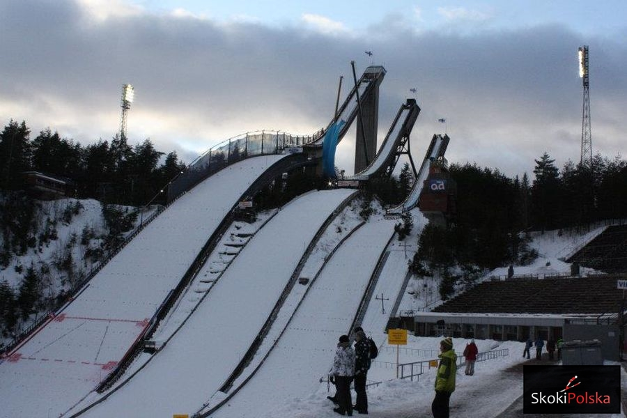 Lahti Salpausselkae zima fot.Julia .Piatkowska - PŚ Lahti: Konkurs odwołany, wiatr nie pozwolił na skoki