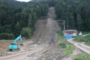Przebudowa skoczni w Ljubnie przebiega zgodnie z planem