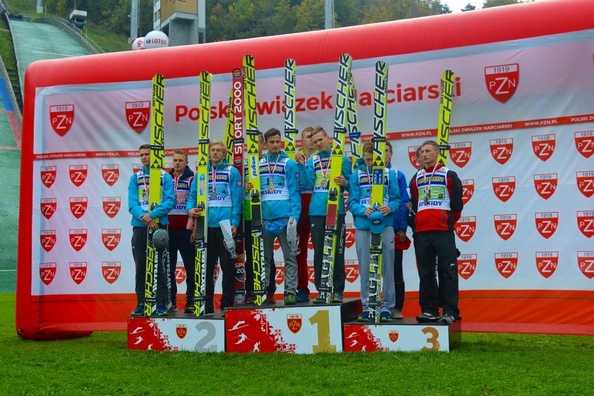 LMP_Szczyrk.2015_podium.konkursu.drużynowego, fot.Kasia Nowak