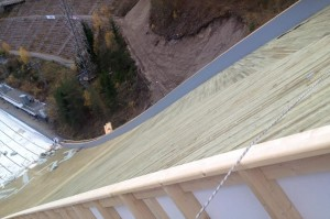 Przebudowa dużej skoczni Salpausselkä w Lahti (fot. Stanisław Okas)