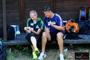Richard Schallert i jego asystent Jaroslav Simek, fot. Julia Piątkowska