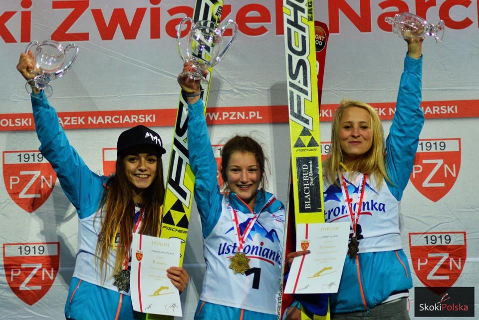 podium LMP - LMP Szczyrk: Kinga Rajda letnią mistrzynią Polski!