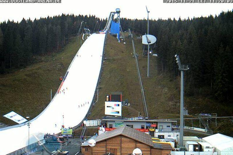 Skocznia w Klingenthal gotowa do otwarcia PŚ (fot. weltcup-klingenthal.de)