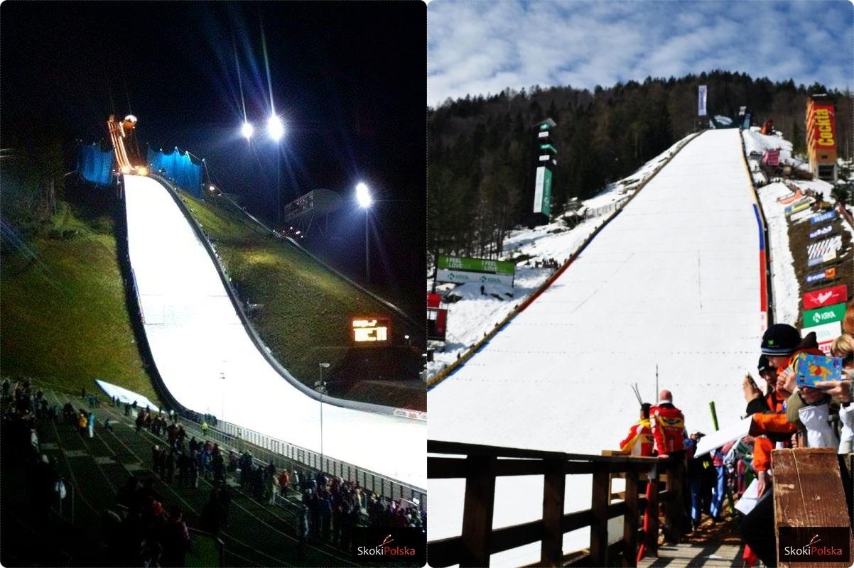 Skocznie w Klingenthal i Planicy - pierwszy i ostatni przystanek PŚ, (fot. J. Piątkowska, J. Mikulski)