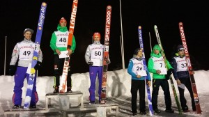 Czołowa szóstka konkursu (fot. Heikki Karjalainen)