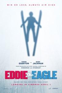 Eddie the Eagle Poster Film 202x300 - Filmowe przestworza Eddiego Edwardsa - w kinach w 2016 roku! (ZWIASTUN)