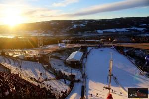 Widok ze skoczni w Lillehammer (fot. Julia Piątkowska)