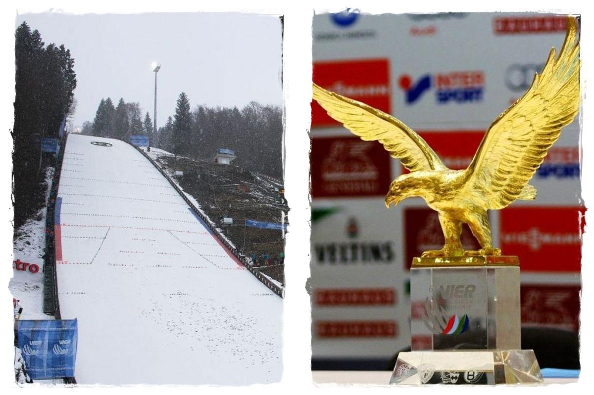 Bischofshofen Golden.Eagle fot.Julia .Piatkowska - TCS Bischofshofen: Dziś wielki finał, czy ktoś dogoni Prevca? (relacja live)