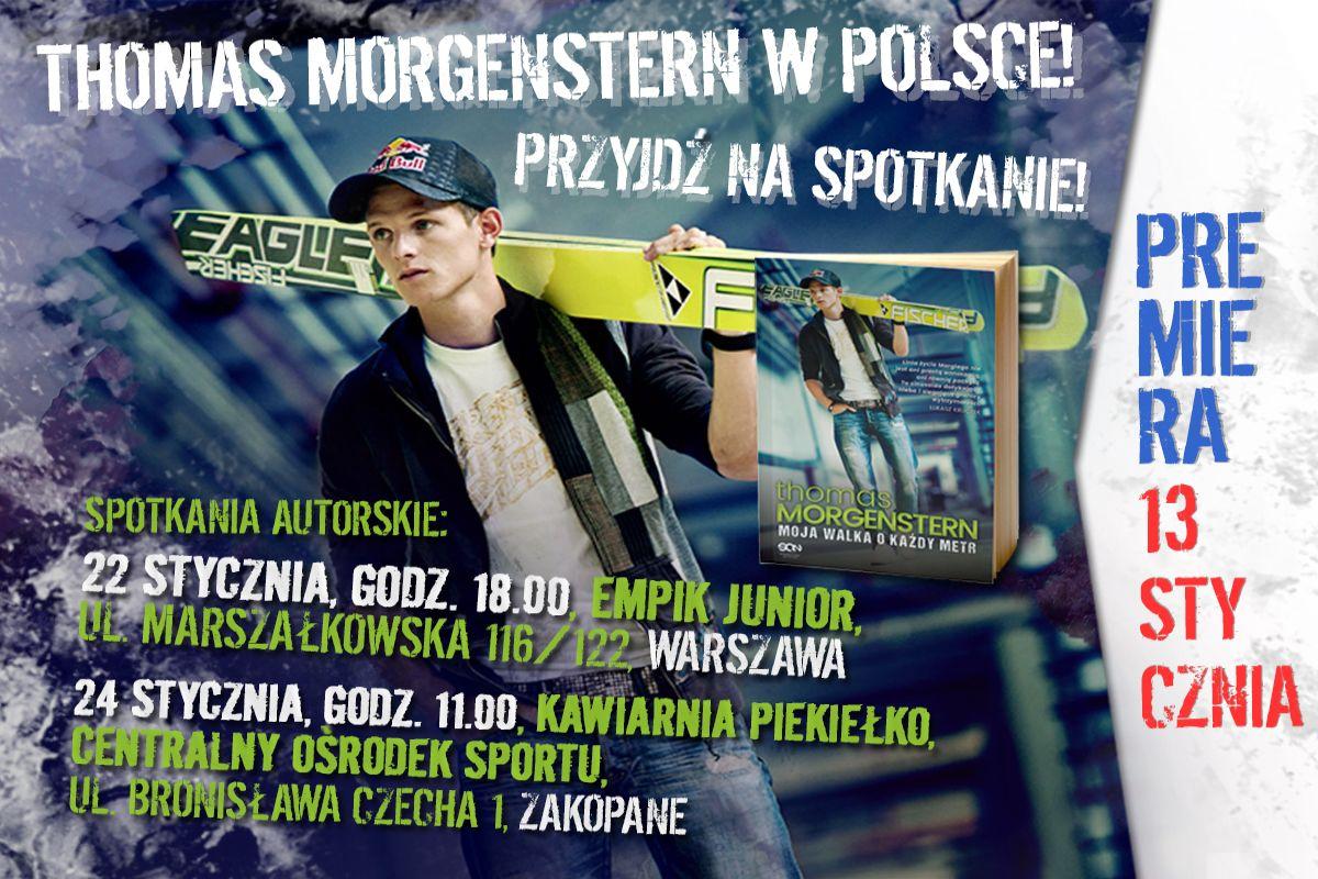 Thomas Morgenstern w Polsce! Gdzie i kiedy spotkacie austriackiego skoczka?