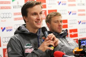 """Nick Fairall w Bischofshofen: """"Tak bardzo chciałbym skoczyć"""" (WIDEO)"""
