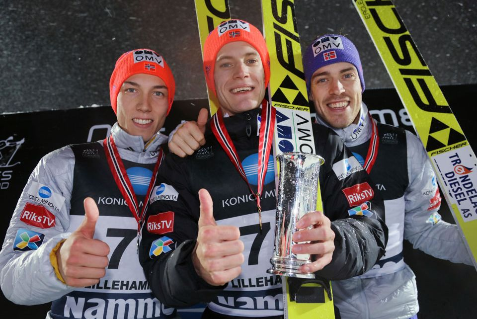 Forfang Gangnes Stjernen fot.skiforbundet.no  - Kenneth Gangnes mistrzem Norwegii w Lillehammer