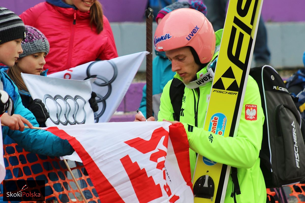 "Kubacki Dawid TCS.Innsbruck.2016 fot.Julia .Piatkowska - Stękała o braku kwalifikacji, Kubacki: ""Mam konkretny plan na skoki"""