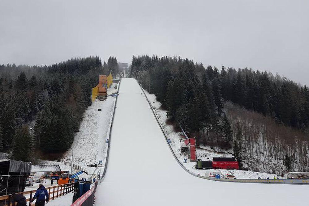 'Kulm-Skiflugschanze' w Tauplitz, fot. Skiflug Weltcup Kulm / skifliegen.at