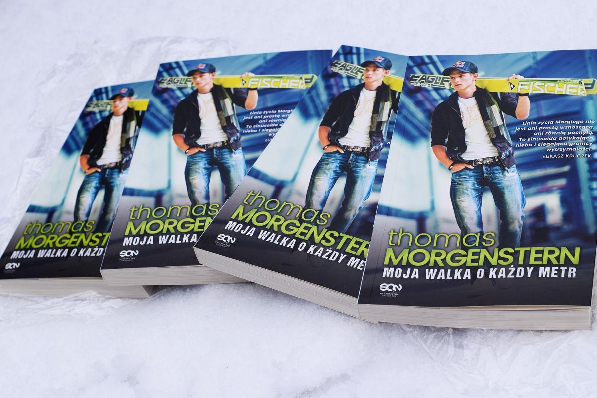 Dziś premiera książki Thomasa Morgensterna, fot. Wydawnictwo SQN