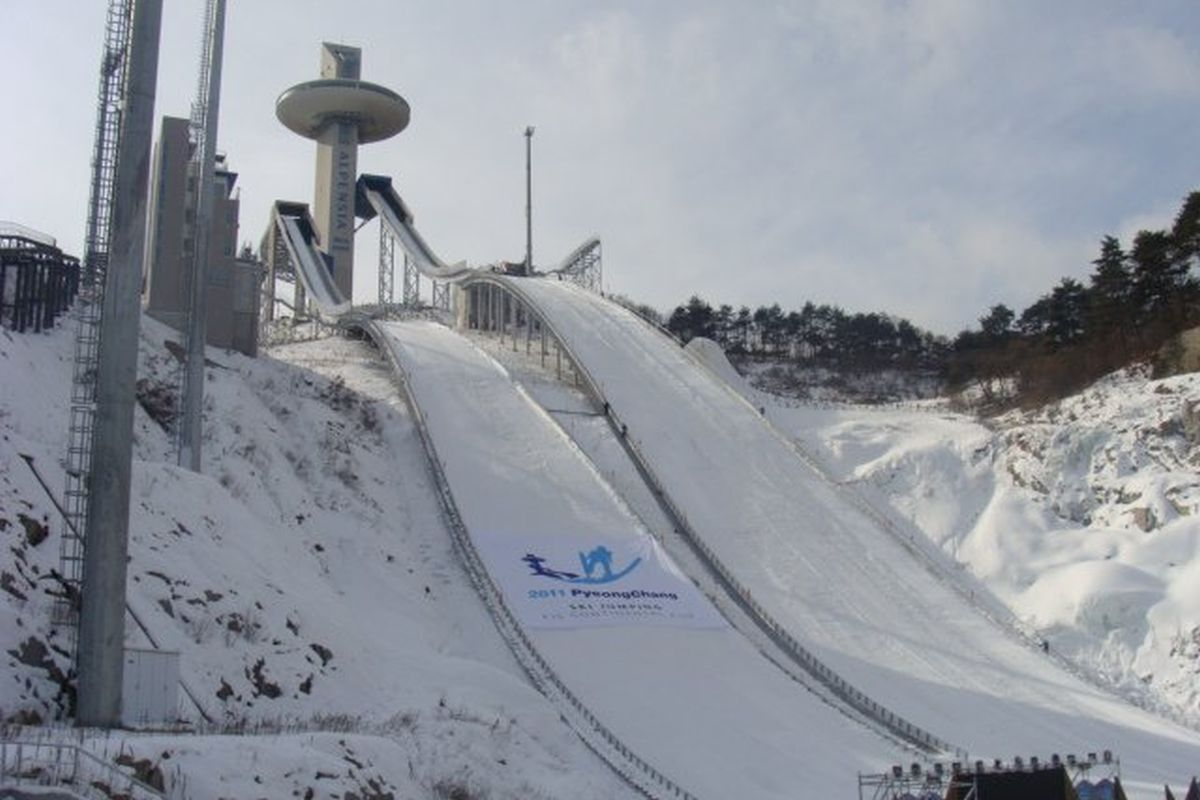 PyeongChang Alpensia.Jumping.Resort fot.skisprungschanzen.com  - PŚ PyeongChang: Dziś drugi konkurs, czy Stoch przeskoczy Krafta? (relacje LIVE)