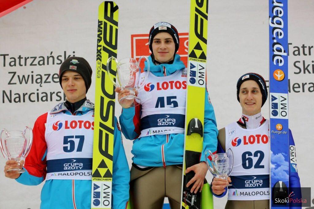 PK Zakopane: Austriackie podium na Wielkiej Krokwi, Murańka czwarty