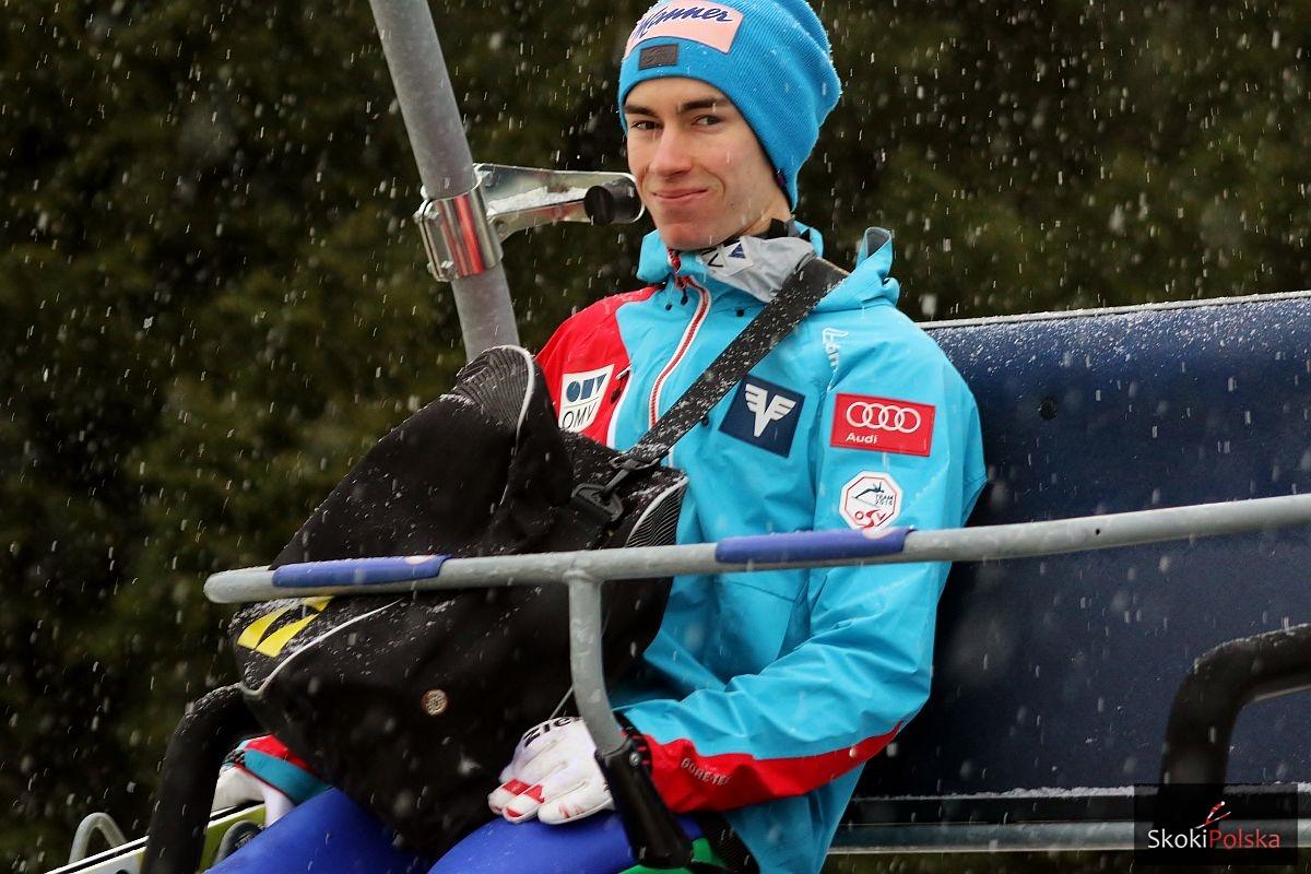 Kraft Stefan WC.Oslo .2016.treningi fot.Julia .Piatkowska - Austriacy skakali na śniegu, Kuttin podał skład na Kuusamo
