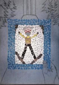 Praca 209x300 - Wyniki konkursu plastycznego na wizerunek Thomasa Morgensterna (GALERIA)