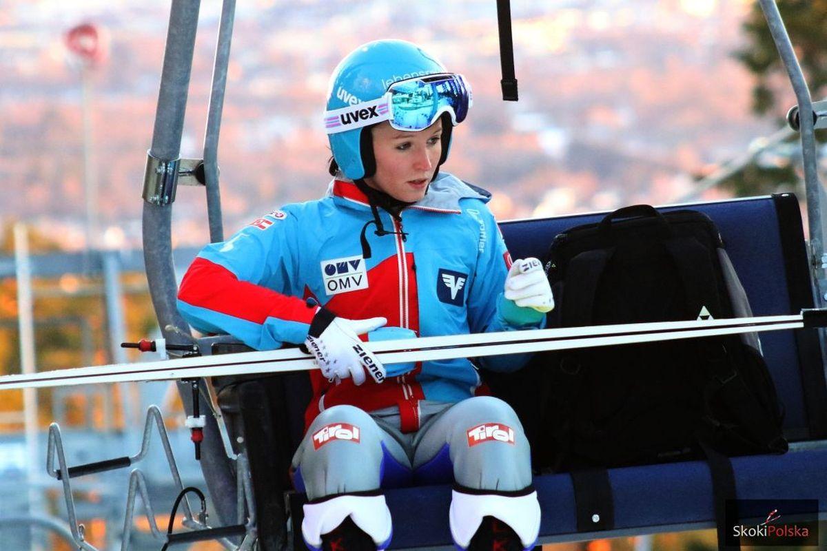 PŚ Pań Lahti: Seifriedsberger i Takanashi najlepsze w treningach